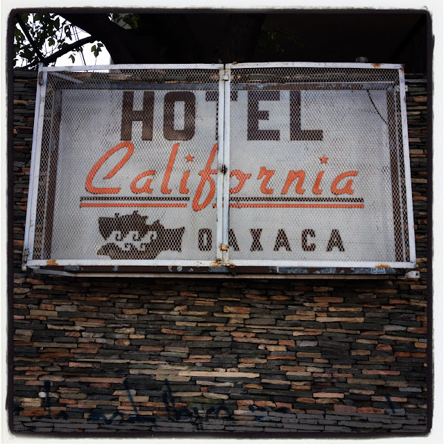 Hotel California, Oaxaca, Mexico. Photo: Phillip Smith