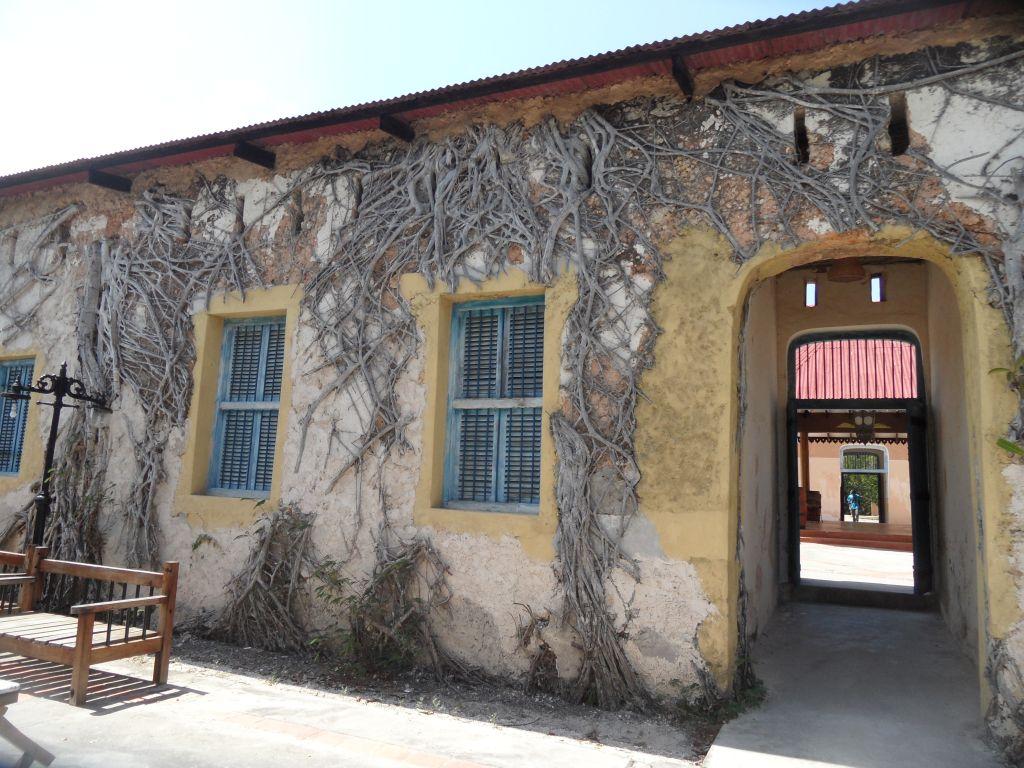 Prison adasında eski hapishane, şimdiki otel