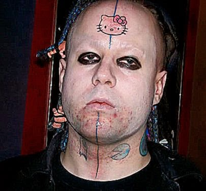 15 Most Stupid Forehead Tattoos stupid tattoos   ODDEE