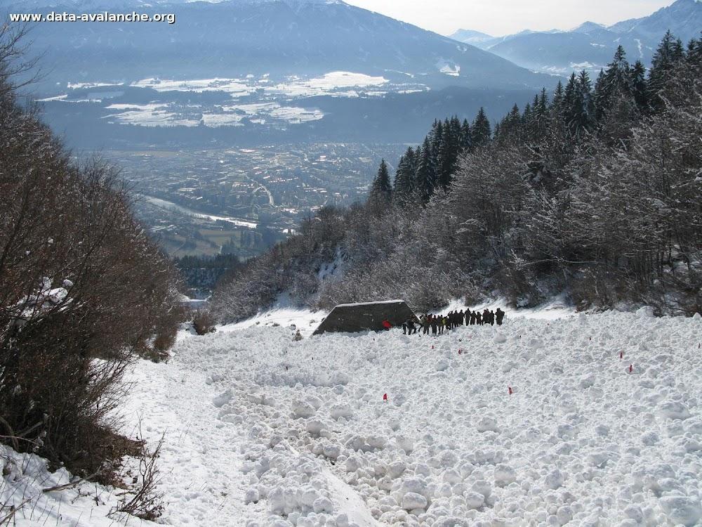 Avalanche Tyrol, secteur Gleirschspitze - Photo 1 - © Charry Marc