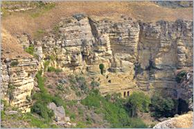 Sizilien - Corleone - Höhlen im Montagna Vecchia