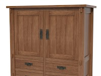 Hickory Armoire Dressers