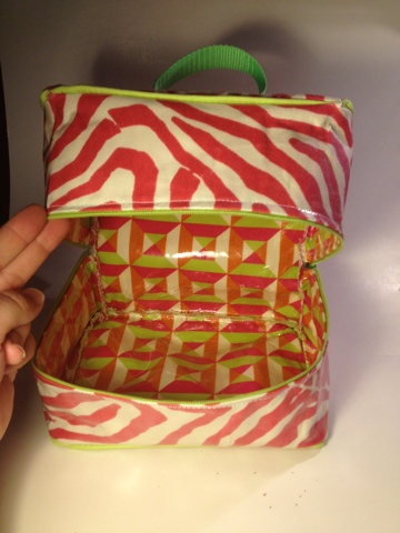 Coconut Love Zipper Lunch Box Tutorial