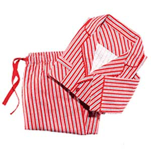 Candy Cane Cotton PJ Set