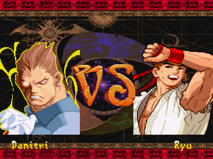 the mugen fighters guild   darkstalkers vs street fighter