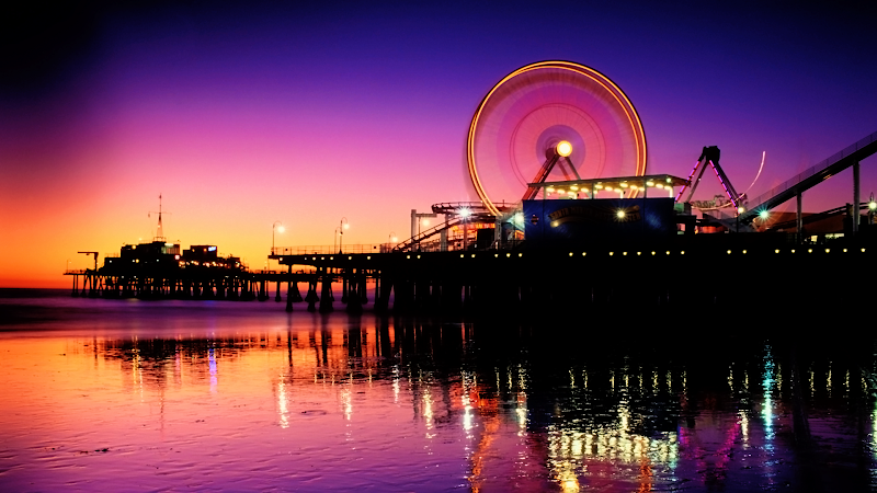 Santa Monica Pier wallpaper