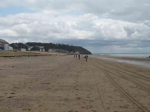 C'est parti pour une rando sur le sable !