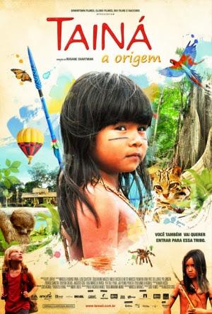 Filme Poster Tainá - A Origem DVDRip XviD & RMVB Nacional