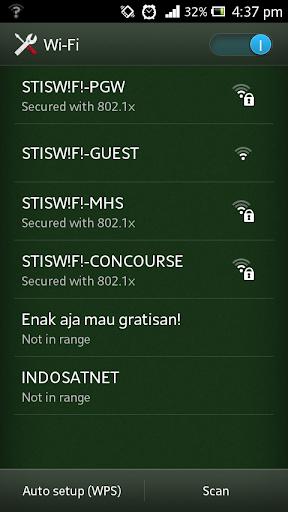 cara setting proxy di android xperia
