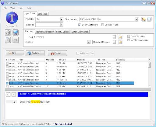 TextCrawler 2.1