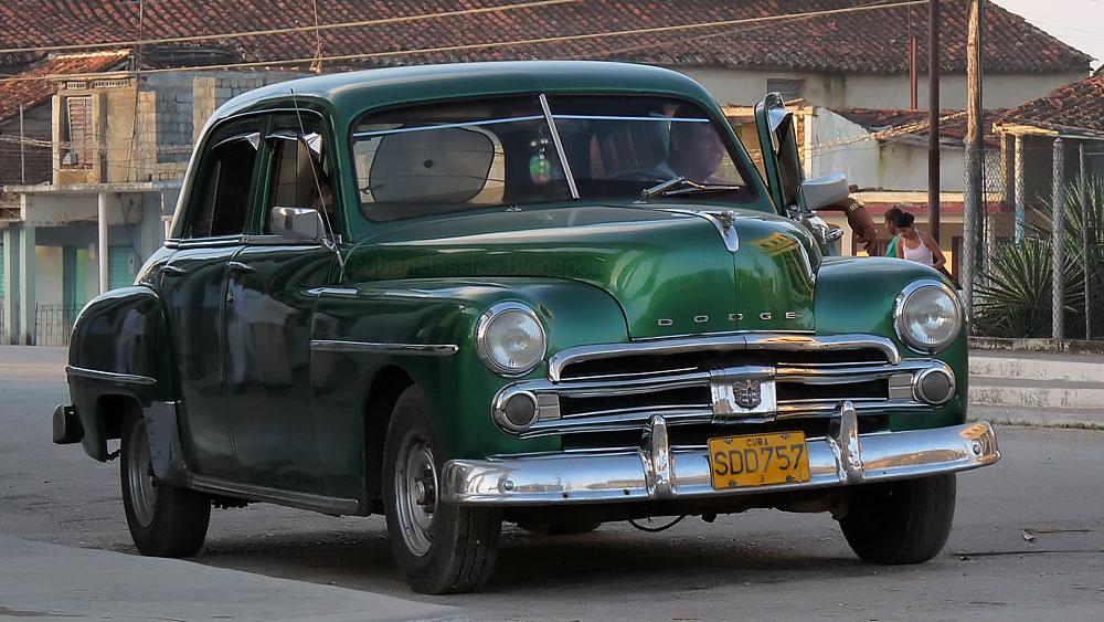 1950 dodge coronet 4 door sedan cubanclassics for 1950 dodge coronet 2 door