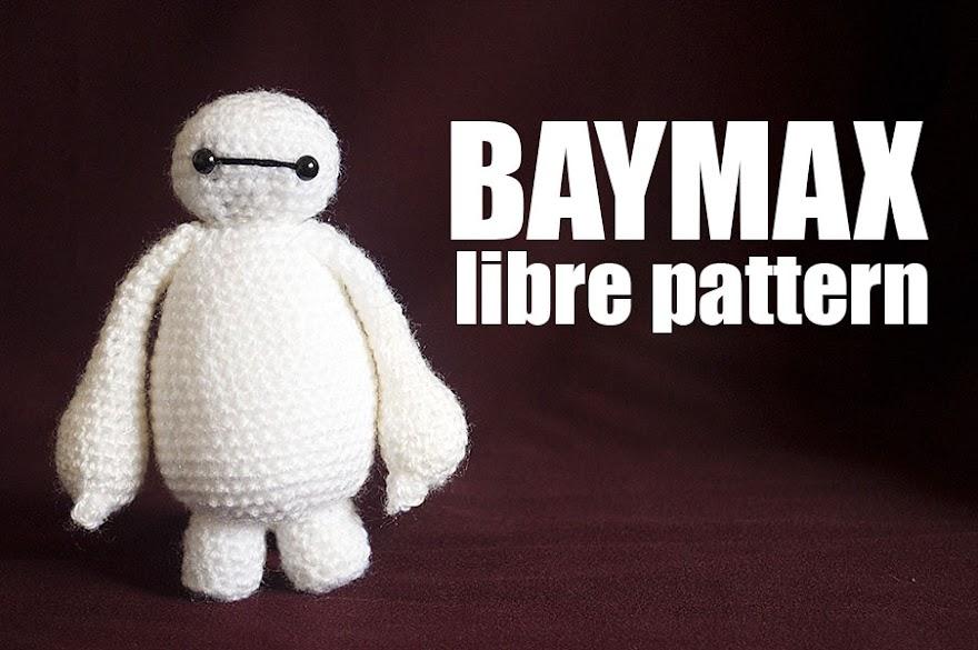 Baymax, Big Hero 6 free pattern - Enemy Dolls