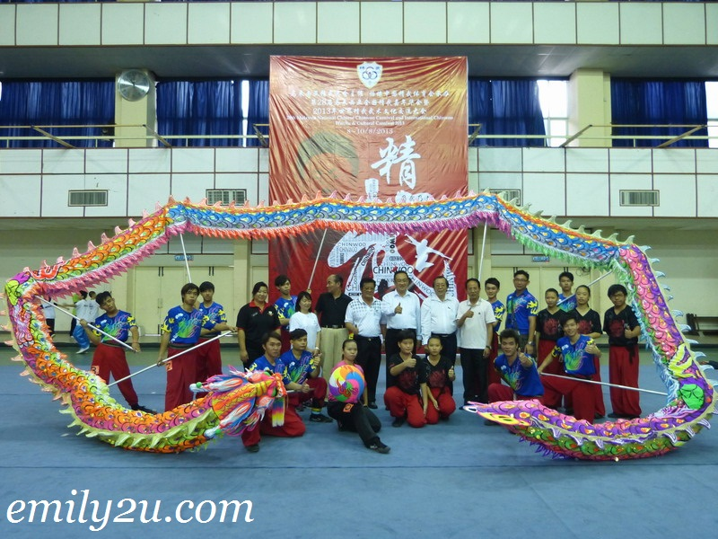Chin Woo Carnival Lion & Dragon Dance Competitions