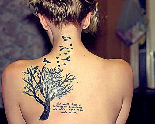 50 Awesome Tree Tattoo Designs