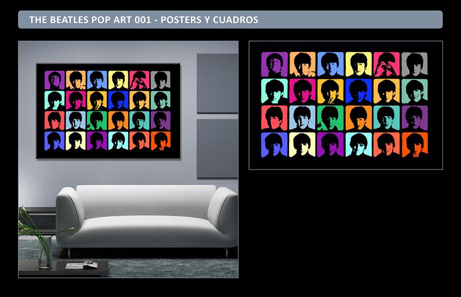 The Beatles Posters Adhesivos Gigantes - Cuadros The Beatles Richard Avedon - Arteygraficadigital