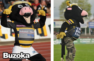Mascotte rugby Stade Montois