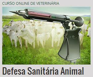 CURSO ONLINE DE DEFESA SANITÁRIA ANIMAL