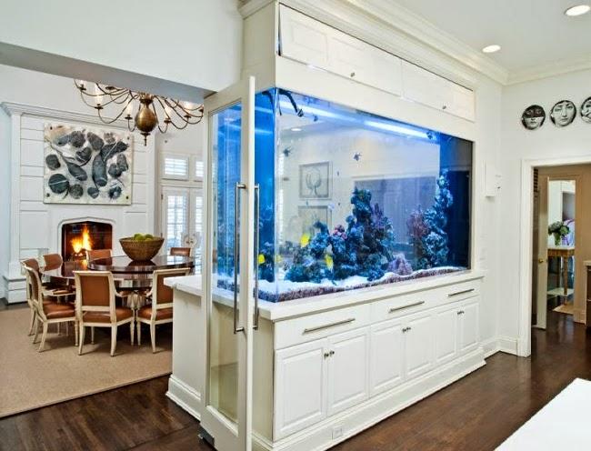 herrlich aquarium wohnzimmer in bezug auf wohnzimmer. fein aquarium ...