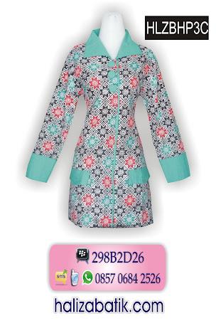 HLZBHP3C Model Baju Blus, Blus Batik, Baju Batik, HLZBHP3C
