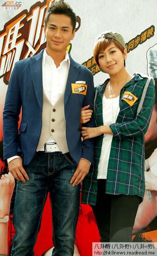 羅仲謙與黃智雯出席劇集的宣傳活動。