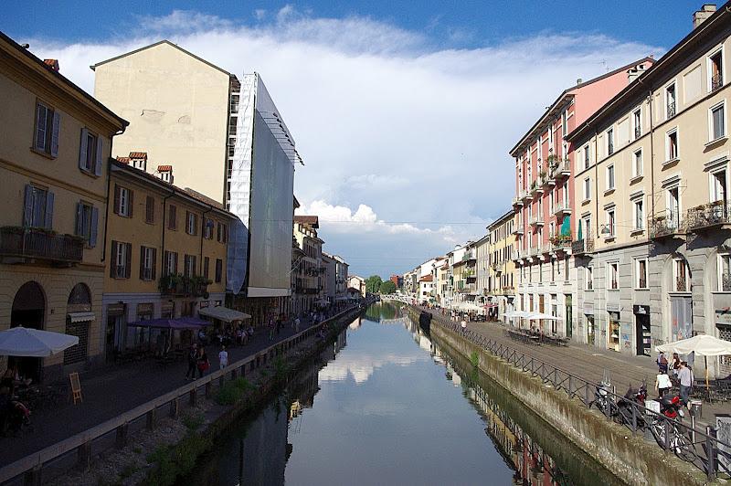 Naviglio Grande, Milán