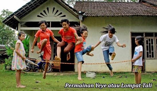 Permainan Yeye atau Lompat Tali