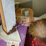 Malowanie, lakierowanie, skrobanie ... ciężka praca.