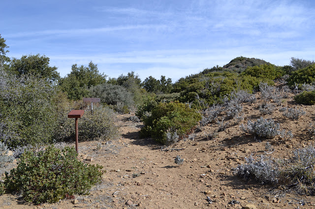 trailhead for Mission Pine Trail