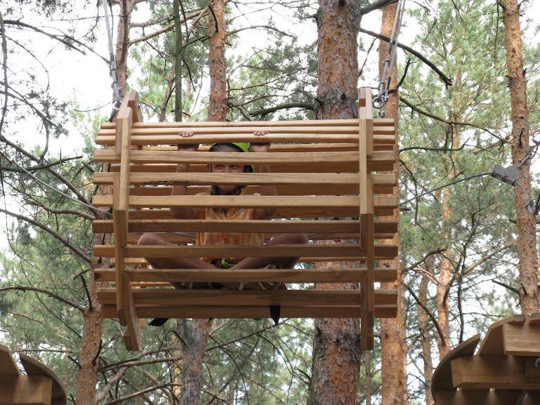 Чердачок: Веревочный парк. Трасса №1 - прохождение
