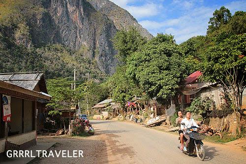 getting to nong khiauw, nong khiauw laos, laos landscape