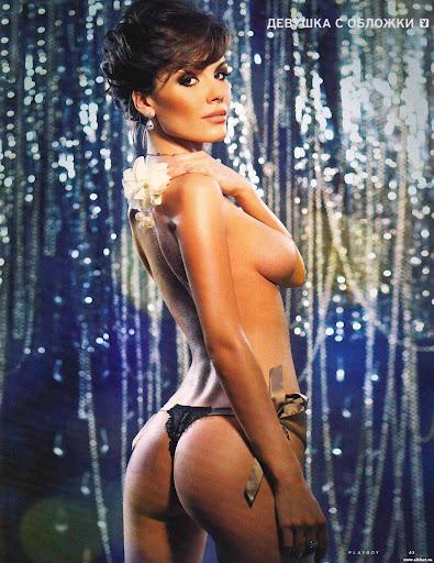 Эрика разделась для Playboy январь 2012