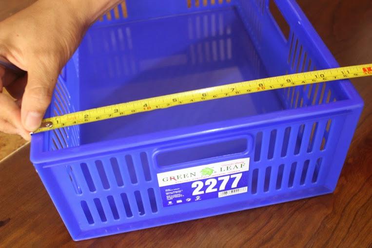 JUAL KERANJANG KONTAINER PLASTIK LOBANG TIPE 2277 L | Green Leaf | www.rajarakminimarket.com | RAJA RAK INDONESIA | JAKARTA