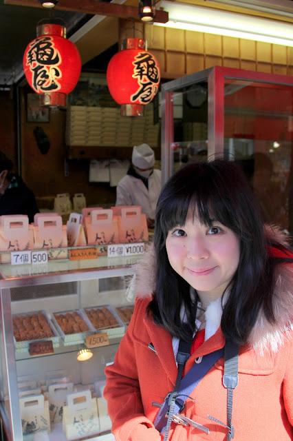 日本.東京.淺草.龜屋.仙貝