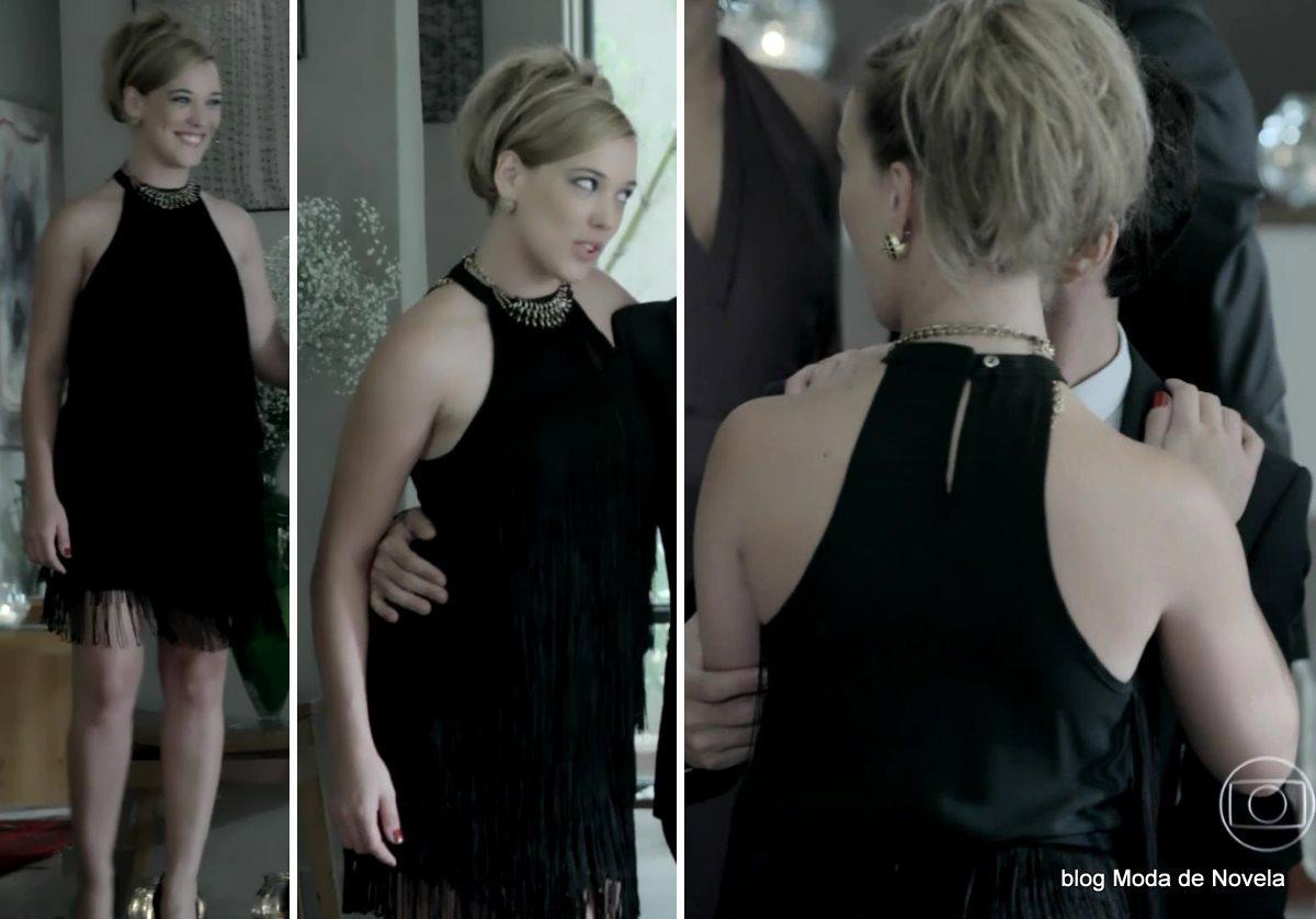 moda da novela Império, look da Amanda dia 24 de dezembro de 2014