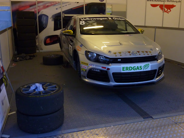Bolid Mateusza Lisowskiego - VW Scirocco R CUP