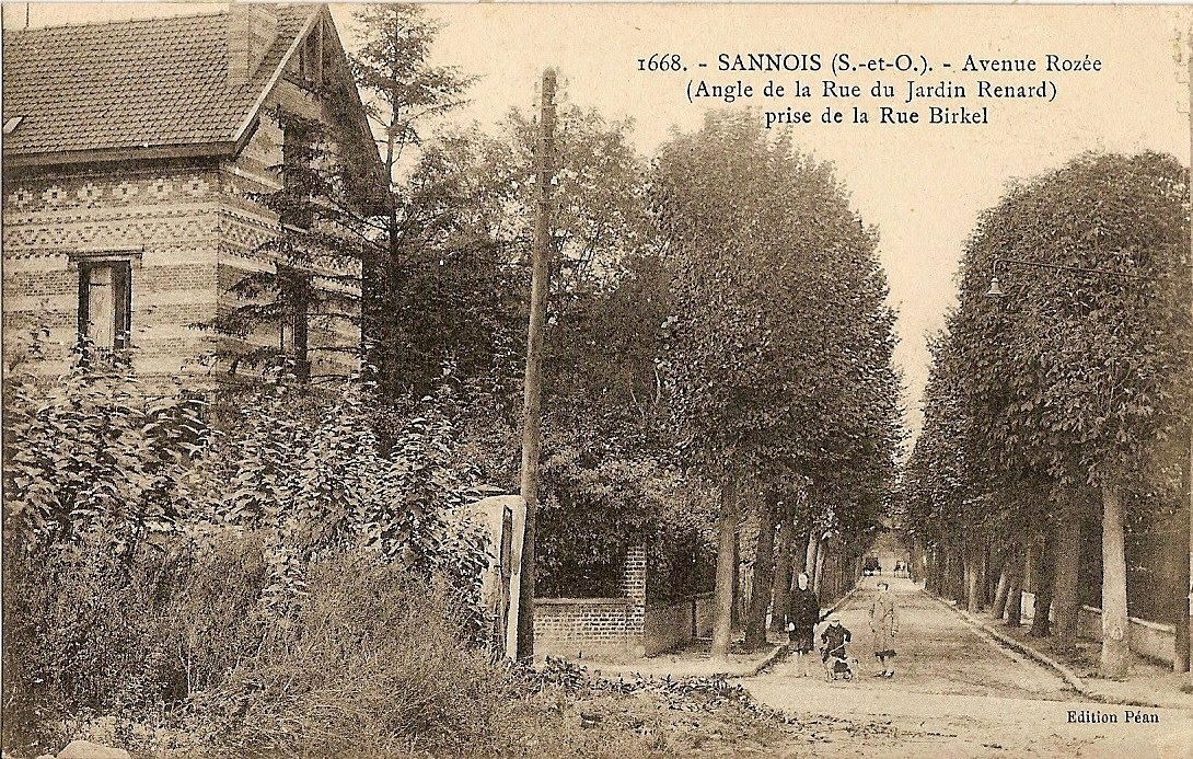 Roz e avenue autrefois sannois for Avenue jules dujardin 5