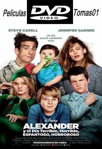 Alexander y el día terrible, horrible, malo… ¡muy malo! (2014) DVDRip