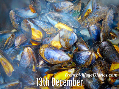 French Village Diaries advent calendar a to z french food moules