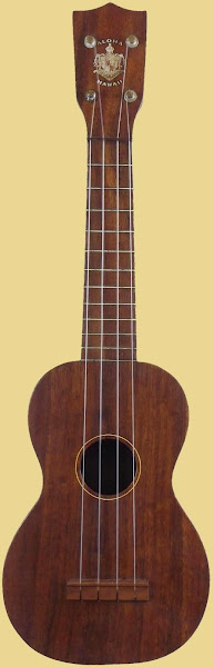 Aloha Manufacturing Co Tabu marked Hawaiian Soprano at Ukulele Corner