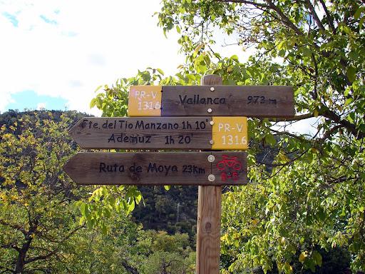 Senderismo: Ademuz - Río Bohilgues pr-cv 131