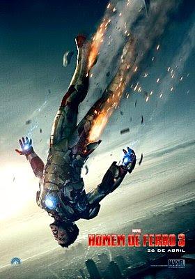 Filme Poster Homem de Ferro 3 R6 XviD & RMVB Dublado