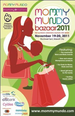Mommy Mundo Bazaar, bazaar, shopping, events