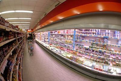Vendas dos supermercados crescem 3,68%