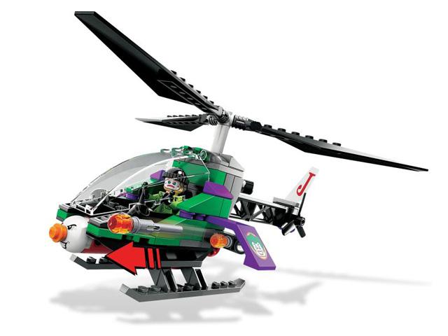 レゴ スーパーヒーローズ バットウィング ゴッサム・シティーでの空中戦 6863