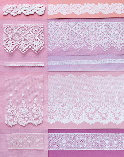 From a story I worked on years ago about printing with lace, sort of the opposite idea. Equally fine results, but I must admit—so much trickier than spray paint!