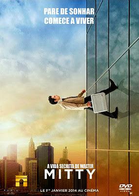 Filme Poster A Vida Secreta de Walter Mitty DVDRip XviD Dual Audio & RMVB Dublado