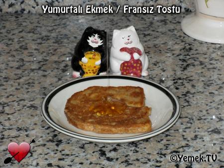 Fransız Tostu - Yumurtalı Ekmek - Videolu Tarifi