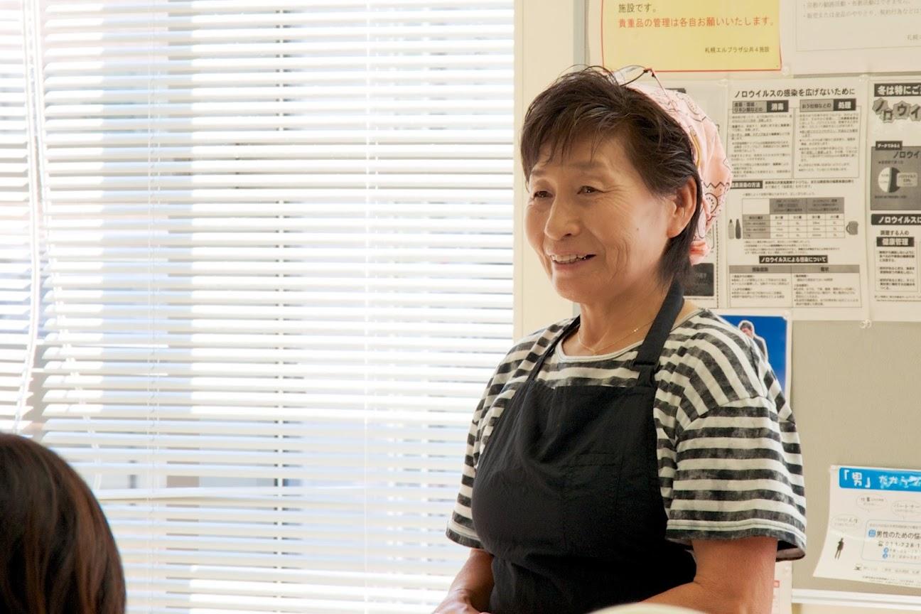 前会長・九栗貞子さん