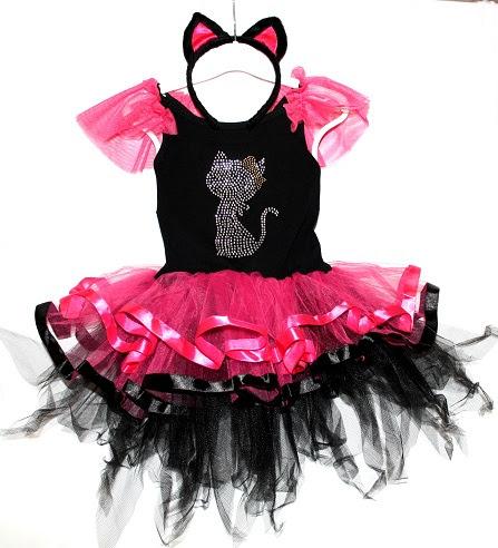 Baby Girl Tutu Dress Outfit Cat Fancy Princess Dance Wear Skirt 9 12 24 2 3 4 5