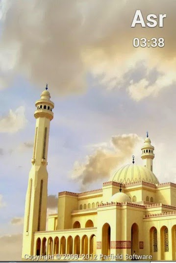 Al-Moazin prayer time app